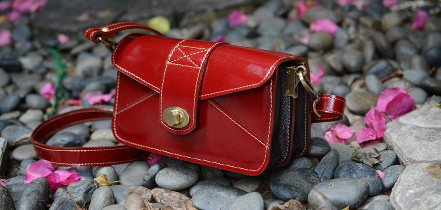 Ha en komplett samling handväskor
